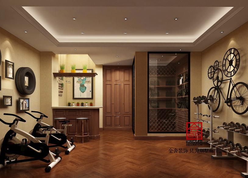别墅装修-休闲室
