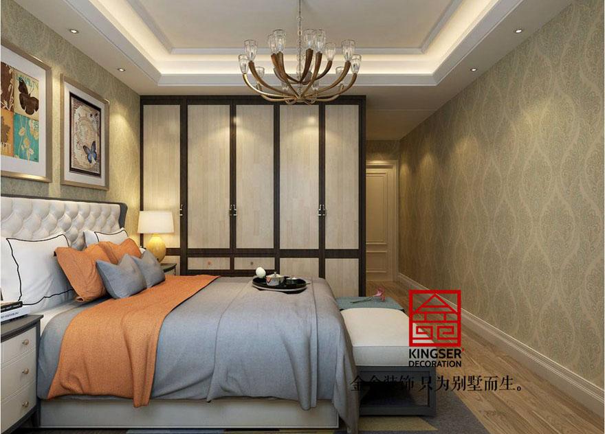 三居室-卧室装修