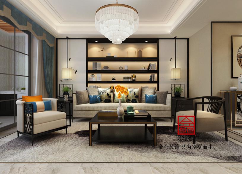 新中式装修-客厅