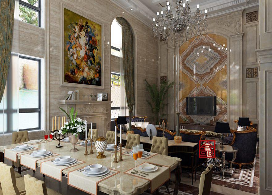 西山林语别墅-餐厅