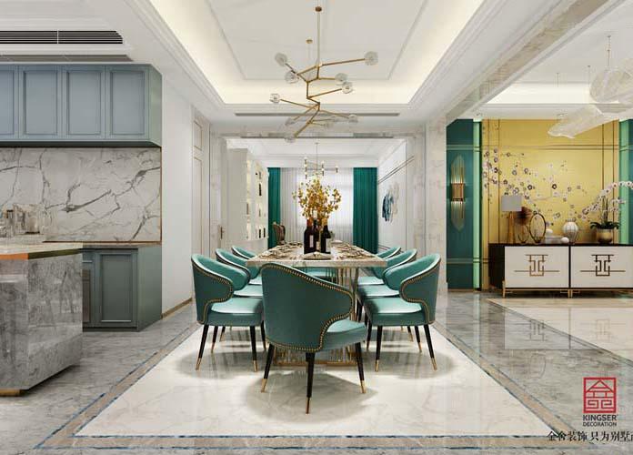 林荫大院260大平层-现代轻奢-餐厅