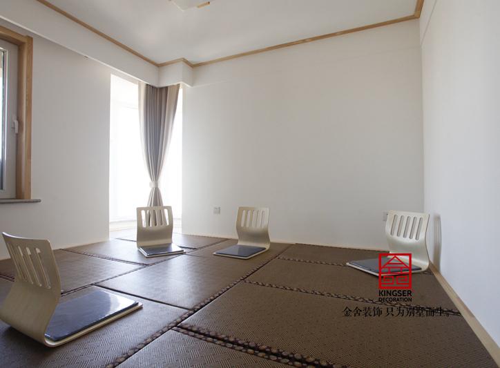 星河御城装修-日式风格-休息室