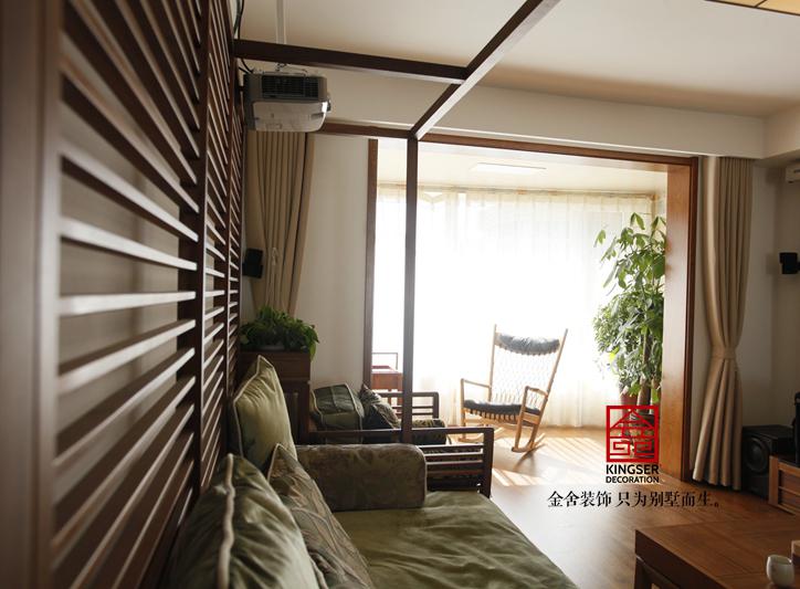 星河御城装修-日式风格-客厅