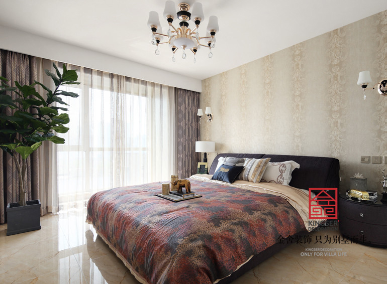 国富华庭装修-现代简约-卧室