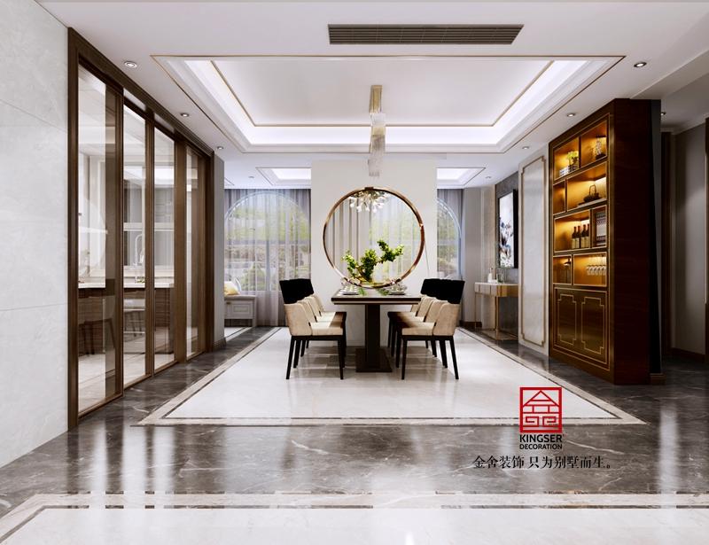 天下锦城装修-新中式风格-客厅