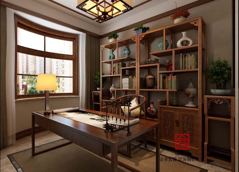 国宾壹号-新中式-书房