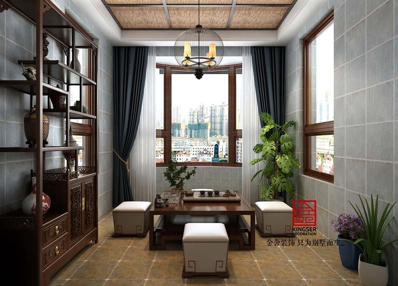 国宾壹号-新中式-阳台