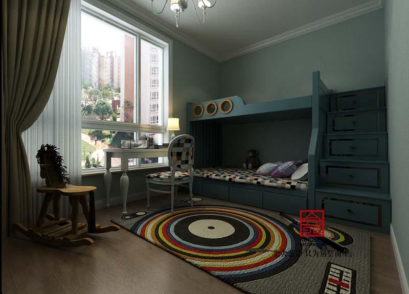 瀚唐二期-美式风格-儿童房
