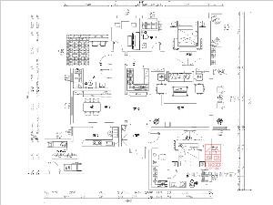 荣盛华府215平米装修户型分析