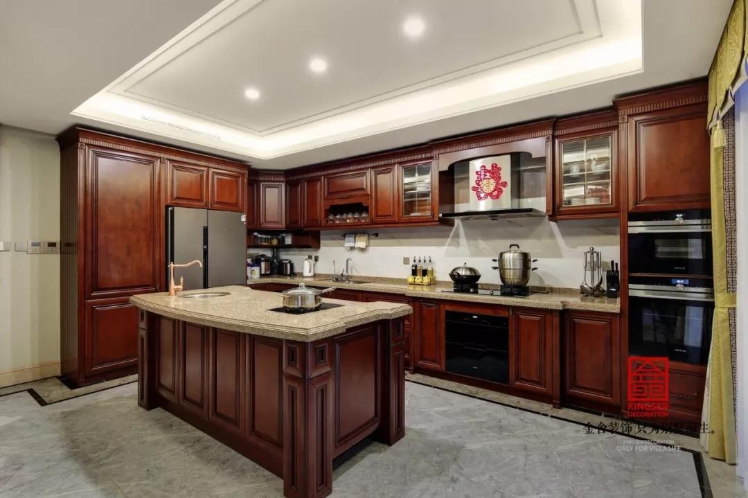 原河名墅装修-新中式-厨房