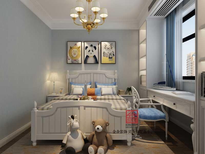 维多利亚装修-美式-儿童房