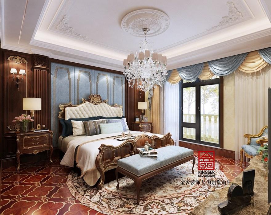 荣盛华府装修-法式风格-卧室
