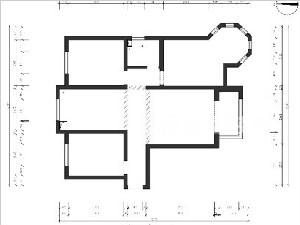 维多利亚122平三室二厅户型解析