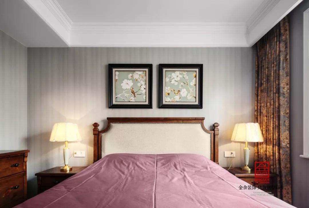 瀚唐三期装修-简美风格-卧室