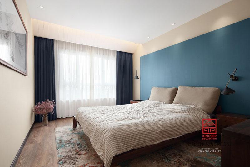 御河上院220平米装修-轻奢风格-卧室