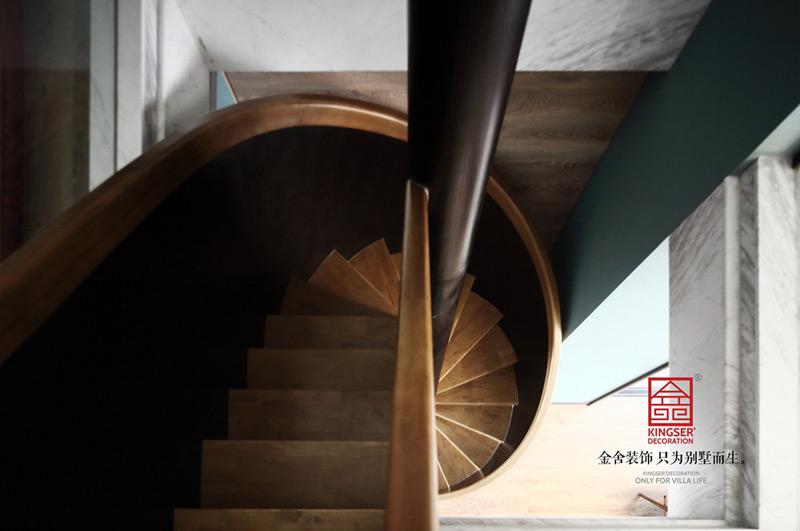 御河上院220平米装修-轻奢风格-阁楼