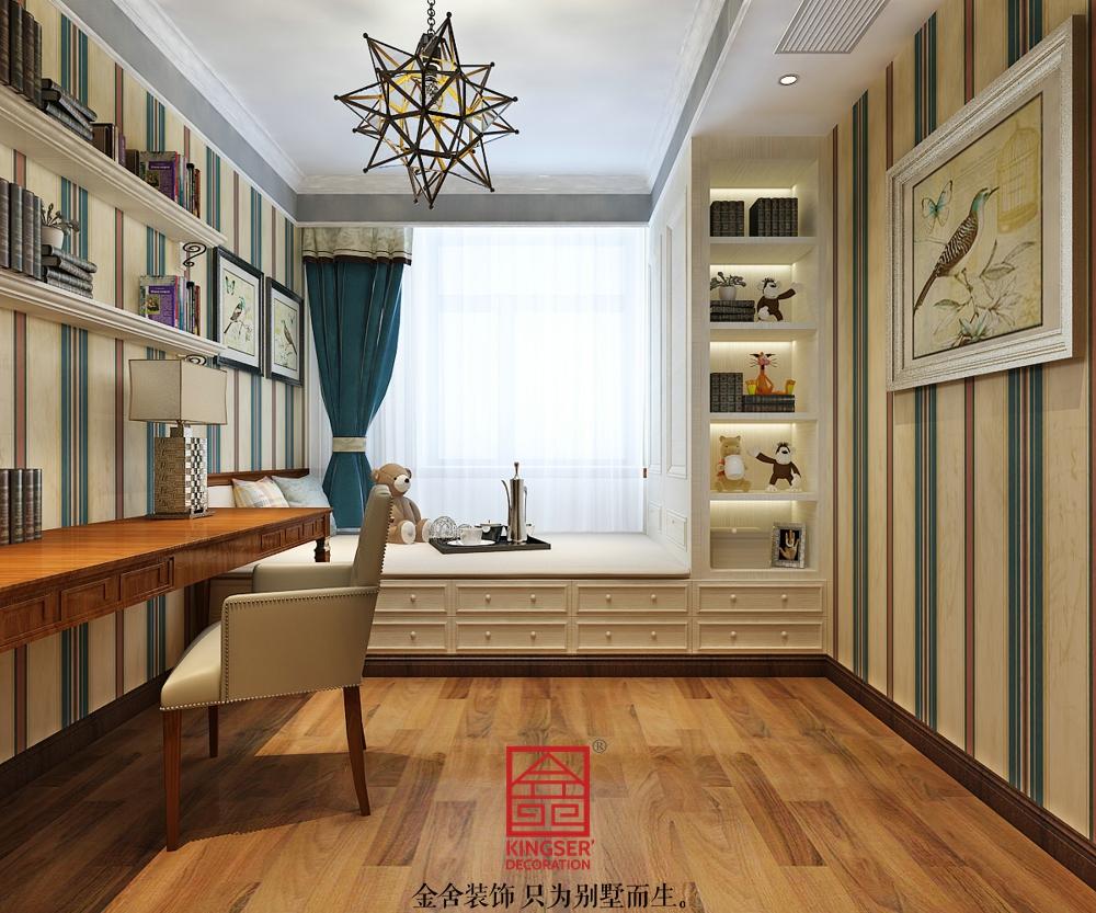 东南智汇城装修-新中式风格-儿童房
