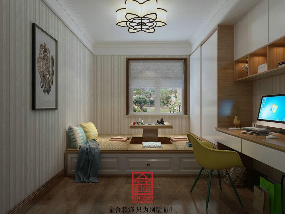 东南智汇城装修-中式风格-儿童房