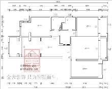 融创中心180平米装修户型分析