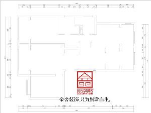 融创中心155平米户型分析
