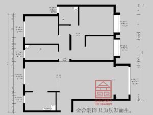 东南智汇城153平米装修户型分析