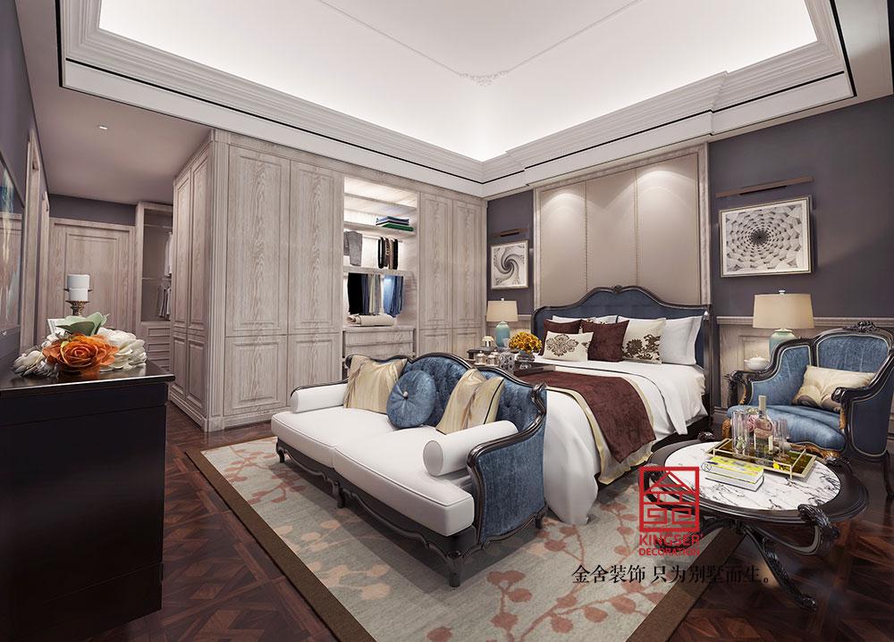 西山御园装修-欧式风格-卧室