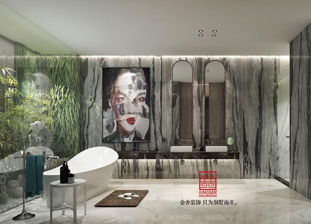 金舍装饰样板间-卫生间