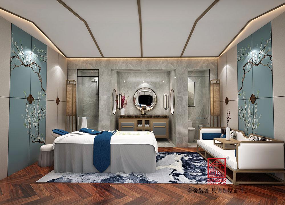 美容院装修效果图-男VIP室