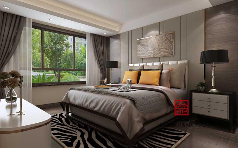 御河上院装修-轻奢风格-卧室