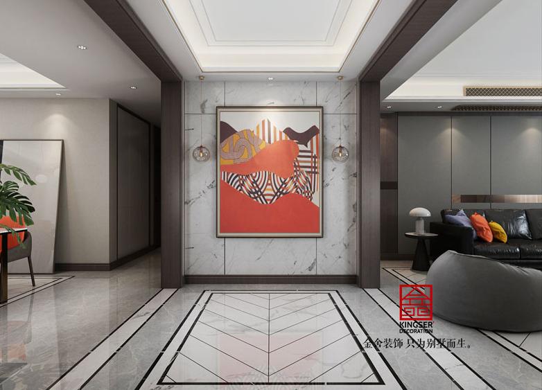 东南智汇城装修-现代风格-玄关
