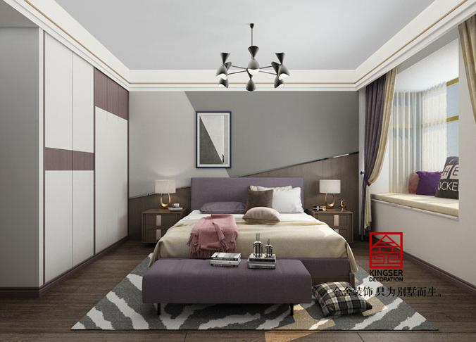 东南智汇城装修-现代风格-卧室