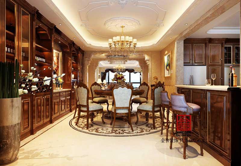 无极别墅装修-欧式风格-餐厅