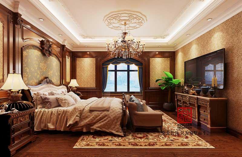 无极别墅装修-欧式风格-卧室