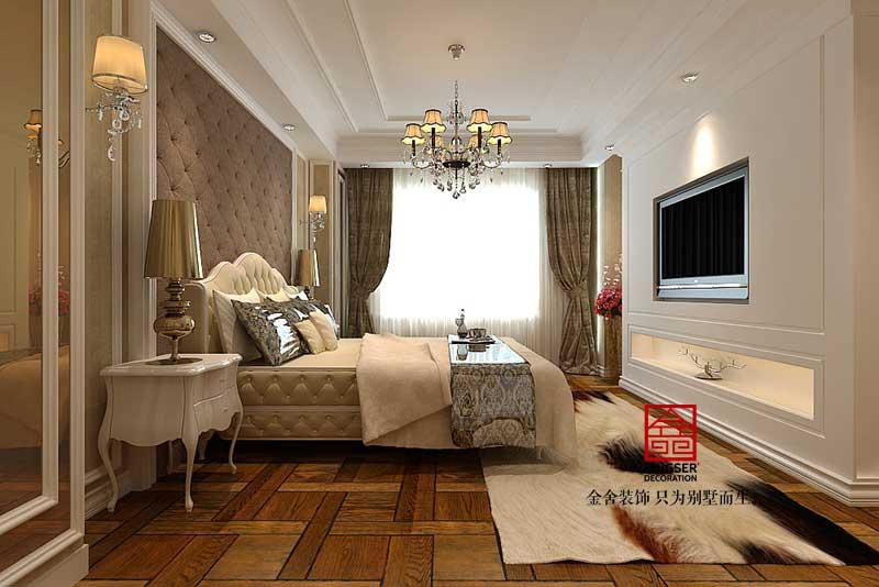 棕榈湾跃层装修-现代简约-卧室