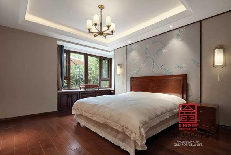 国宾壹号210平米中式风格装修实景图