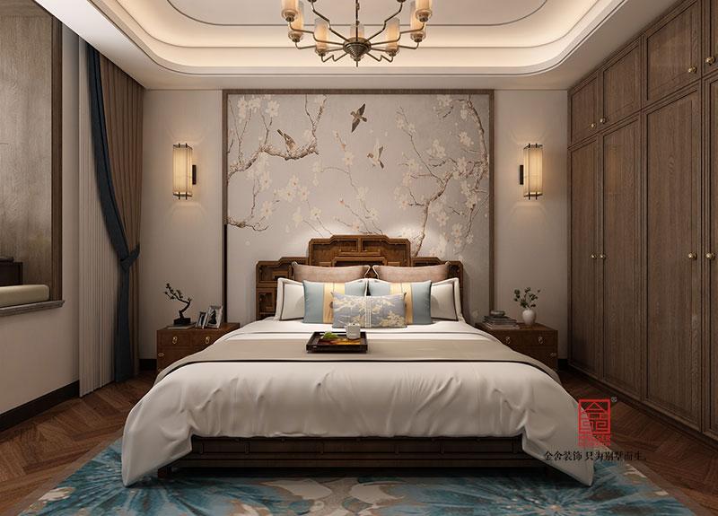 东南智汇城装修-中式风格-卧室