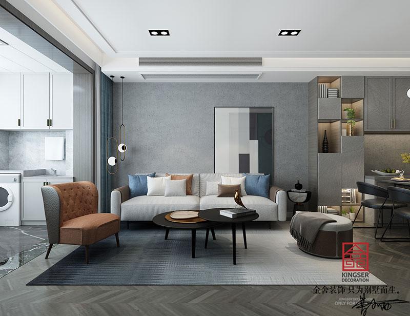 东南智汇城装修-现代简约-客厅