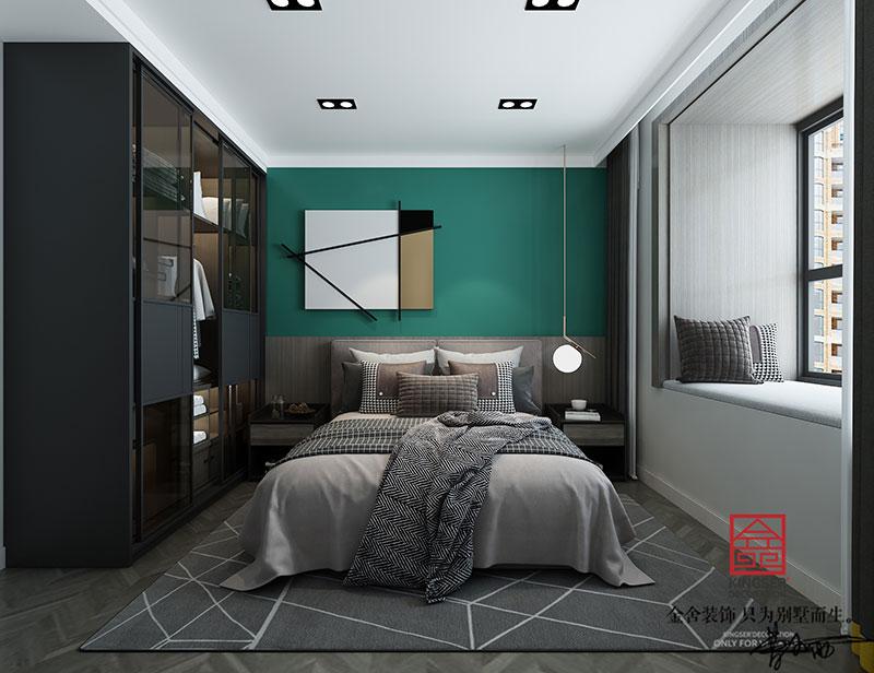 东南智汇城装修-现代简约-卧室