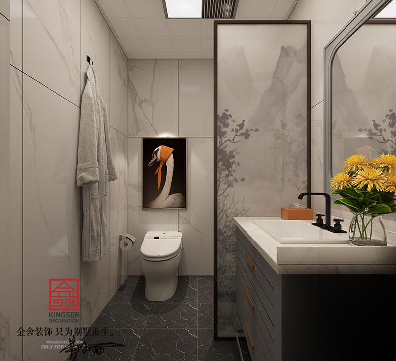 东南智汇城装修-美式风格-卫生间