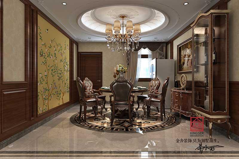 紫晶悦城装修-新古典风格-餐厅