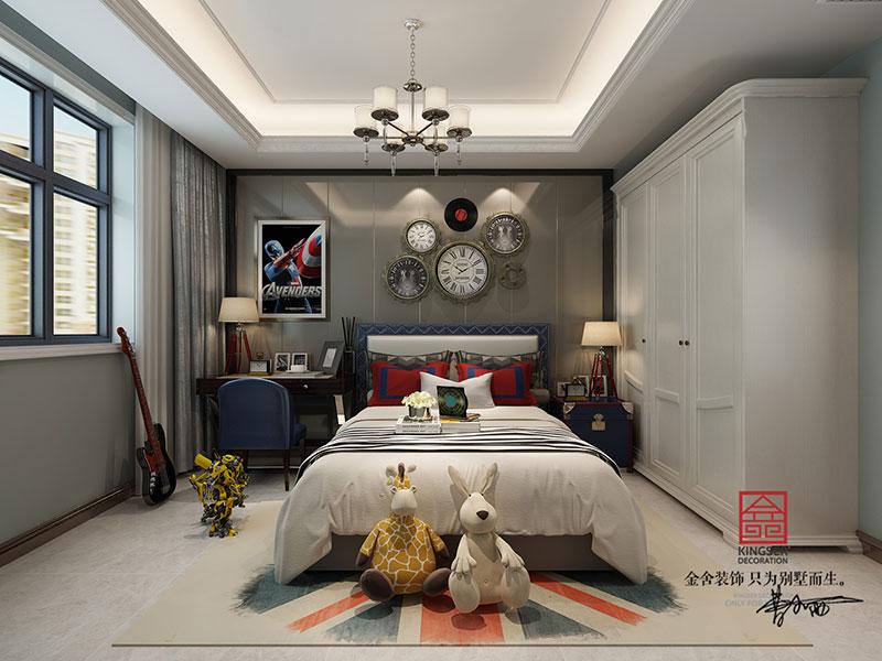 紫晶悦城装修-新古典风格-儿童房