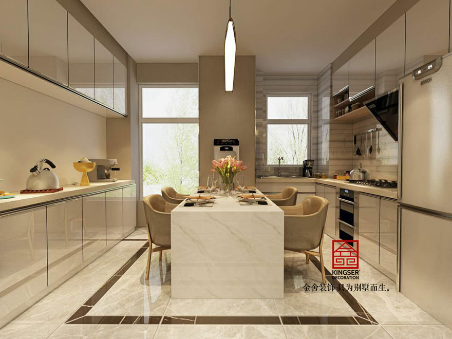林荫大院装修-现代简约-厨房
