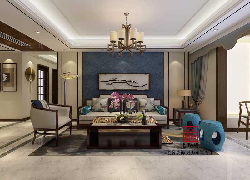 瀚唐装修-中式风格-客厅