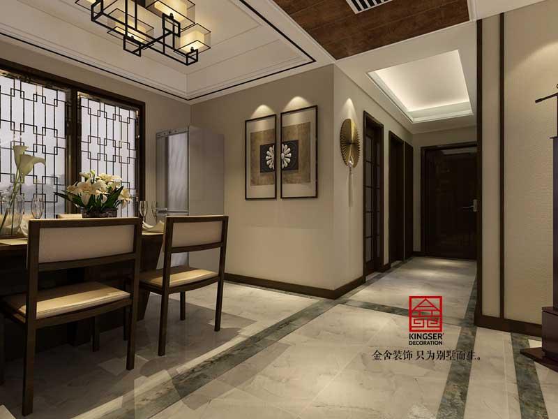 瀚唐装修-中式风格-餐厅