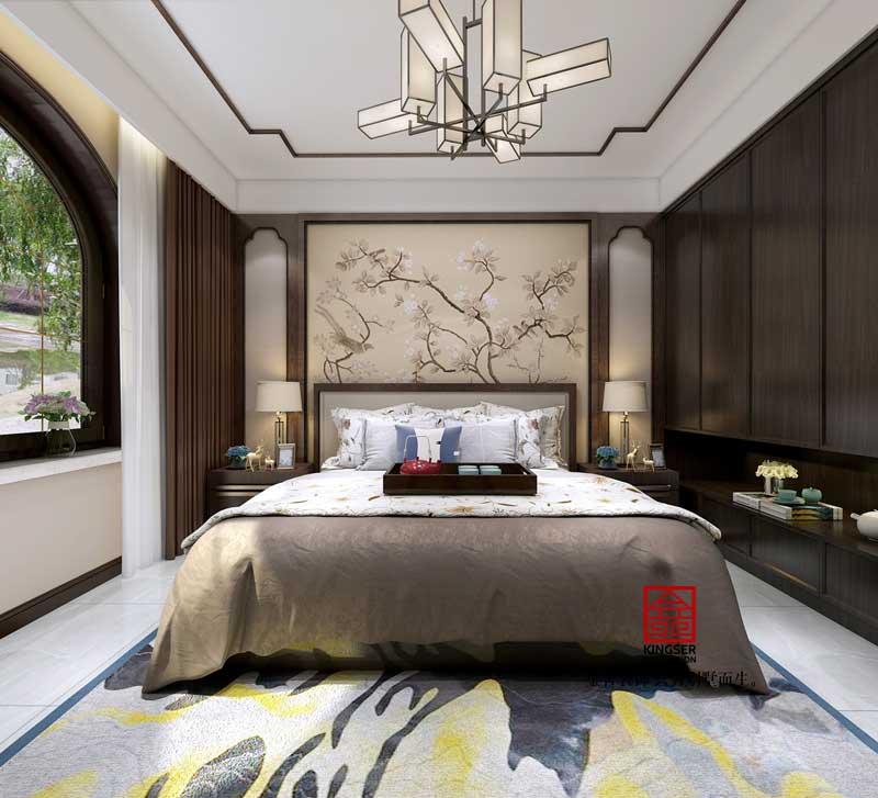 国宾壹号装修-中式风格-卧室
