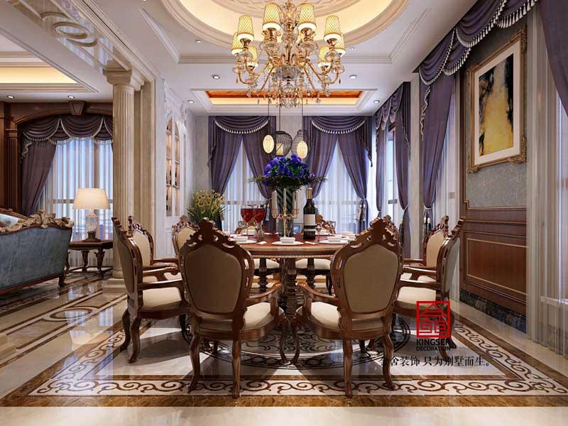 碧桂园别墅装修-欧式风格-客厅