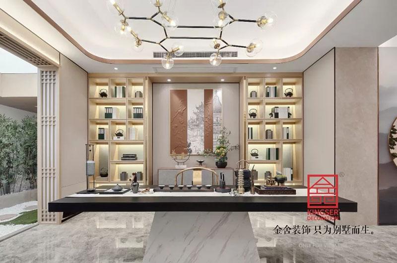 唐宫原著样板间装修-中式风格