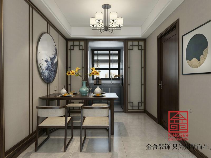 维多利亚装修-中式风格-餐厅