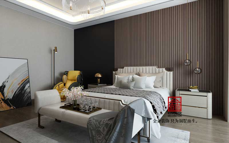 星河盛世装修-轻奢风格-卧室