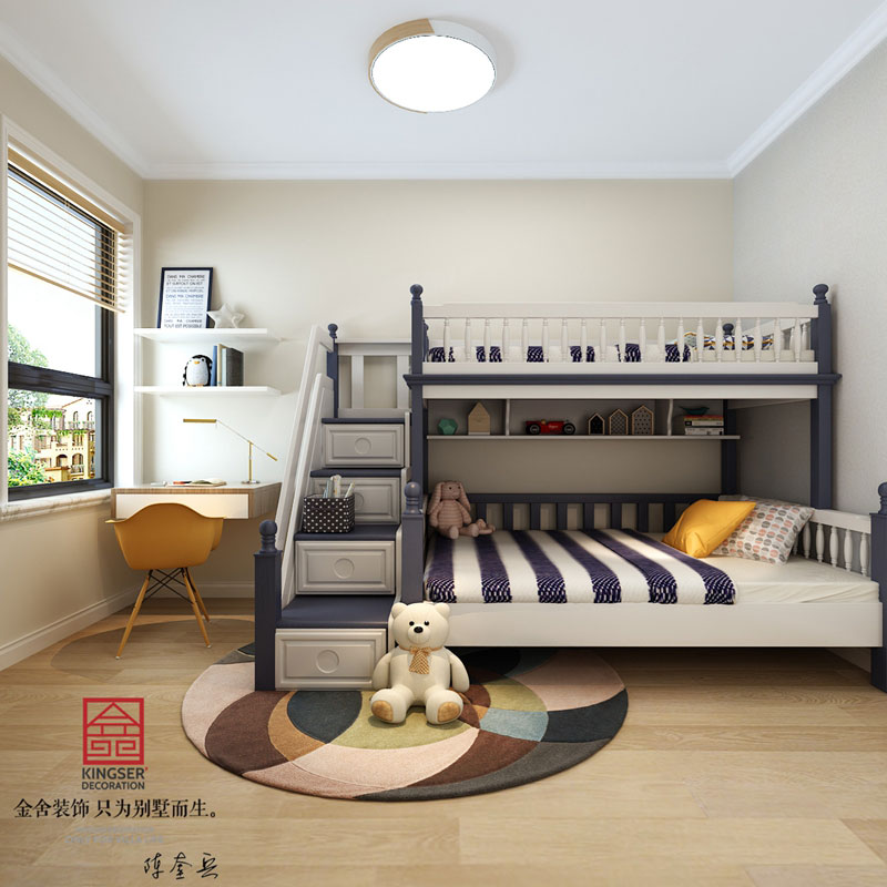 瀚唐-欧式风格-儿童房